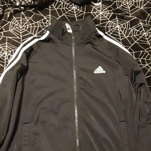 Adidas Black Zip Jacket